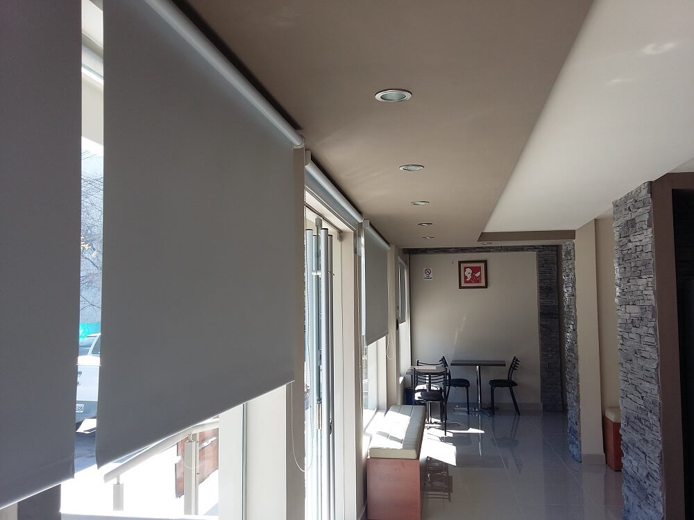 Cortinas Roller BlackOut Blancas en Salta